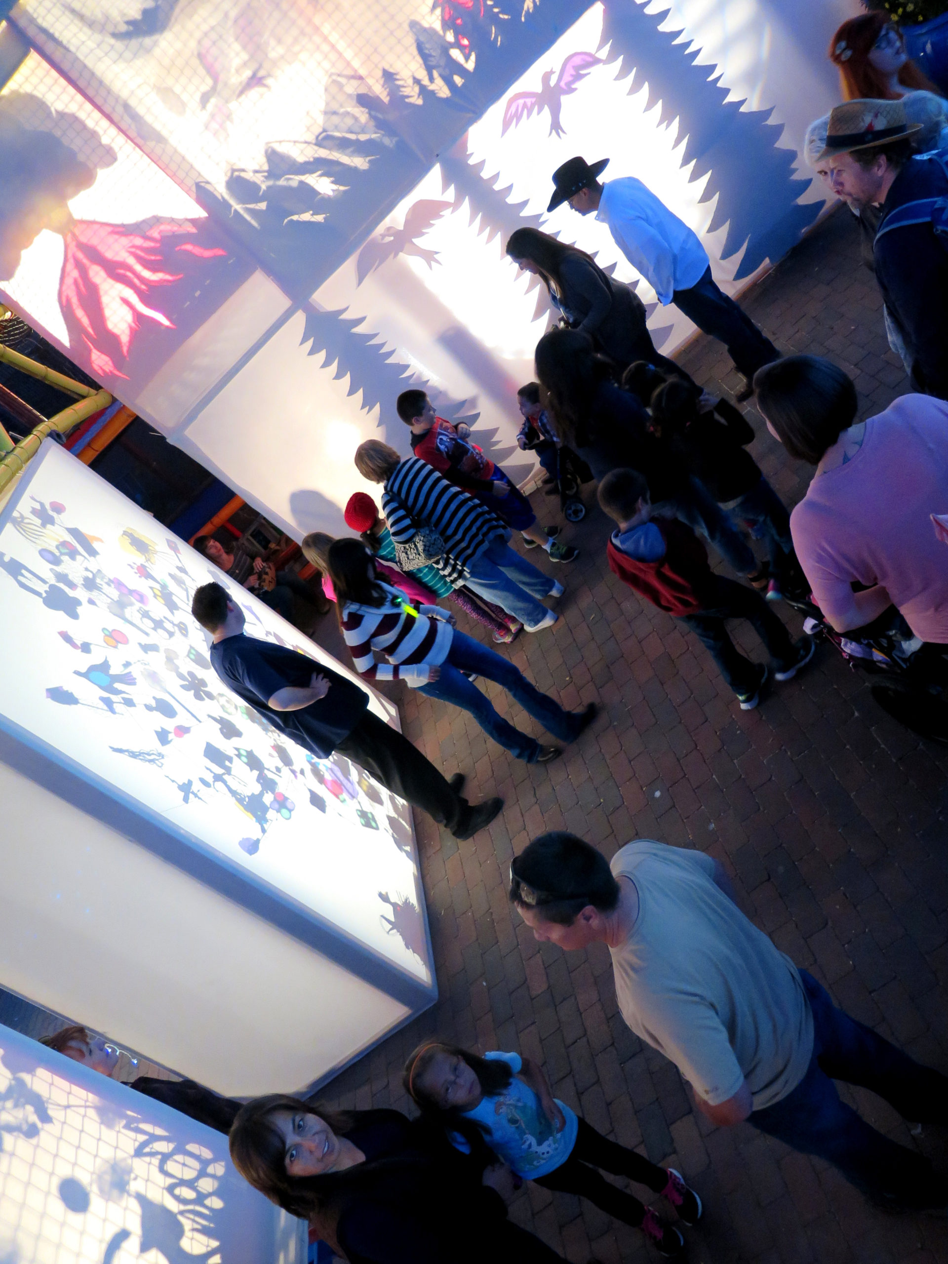 Light Play Twirl Paseo Installation 2015