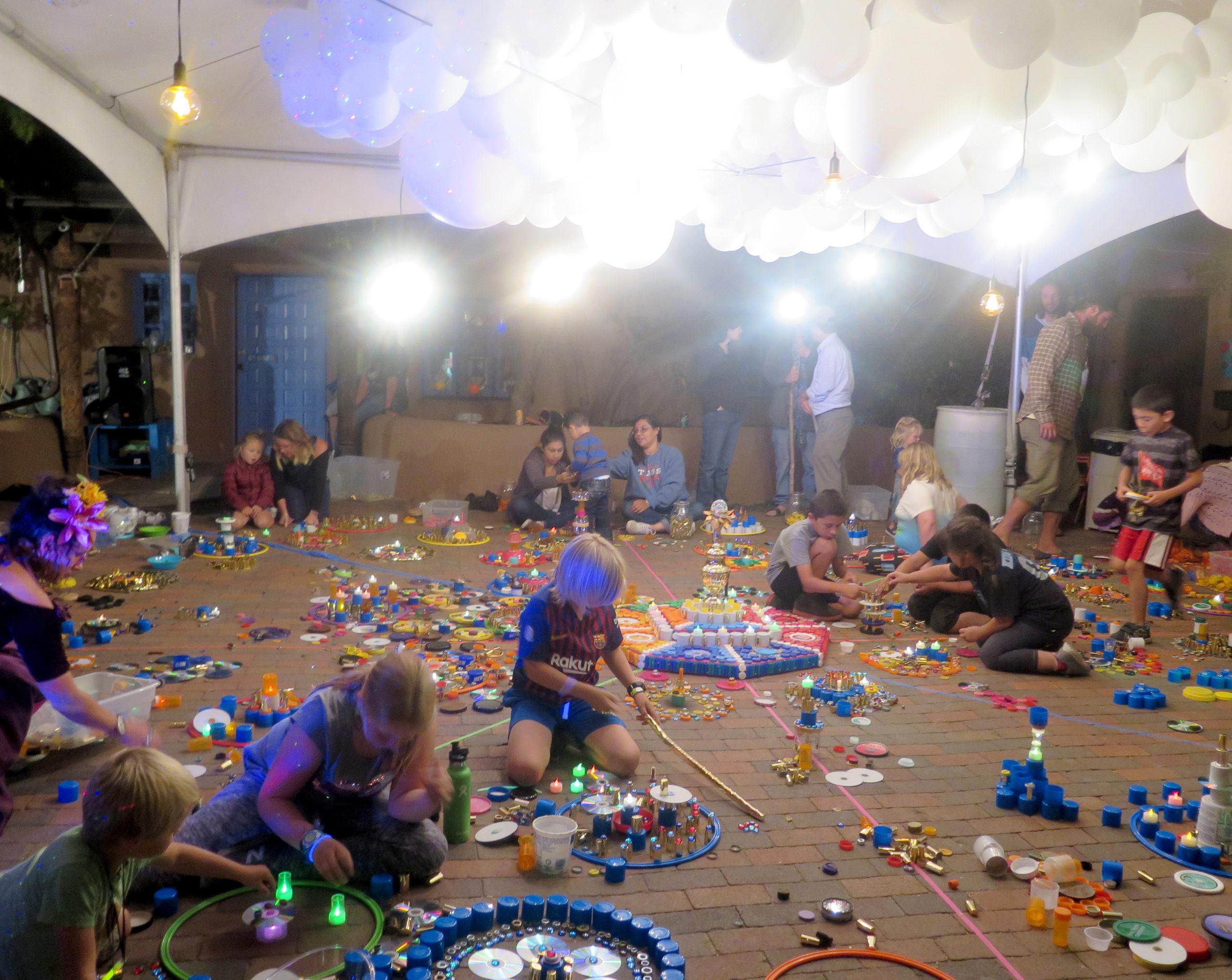 Mandala Play Twirl Paseo Installation 2018